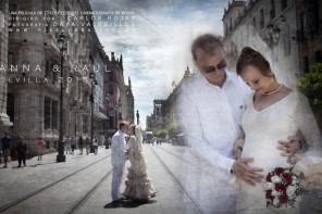 Videos de boda en la feria de sevilla, boda civil original